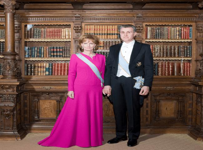 Princess Margareta and Prince Radu