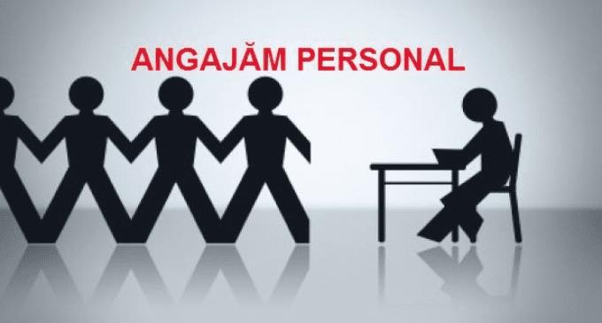 angajam personal