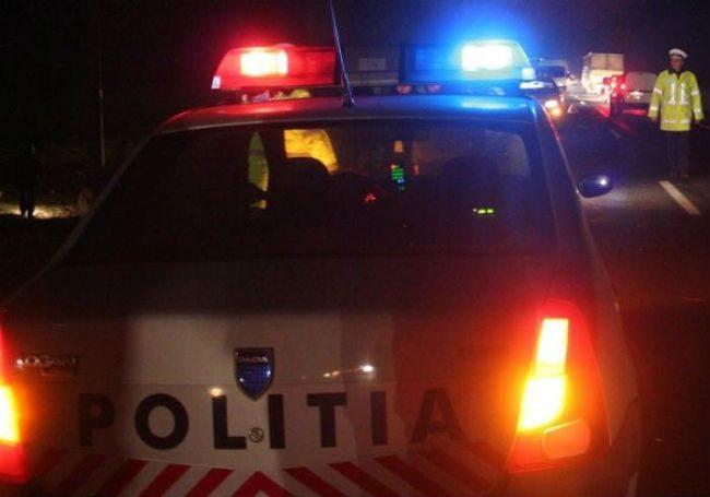 accident politia noaptea