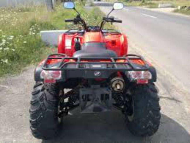 ATV neînmatriculat