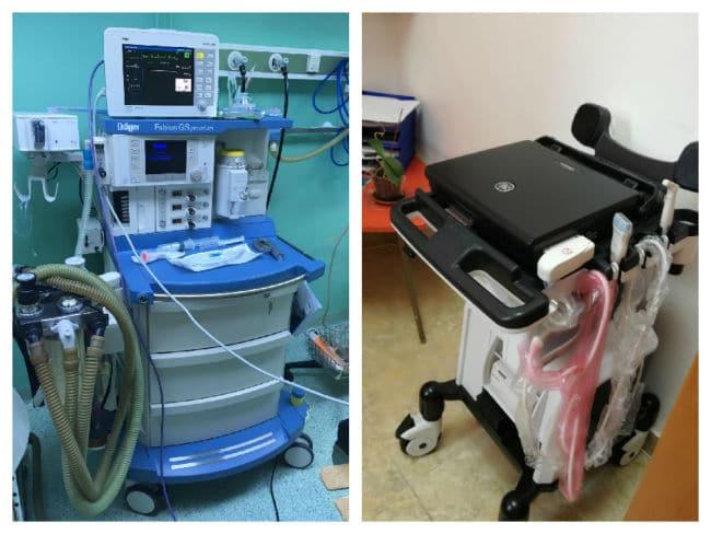 spital aparate
