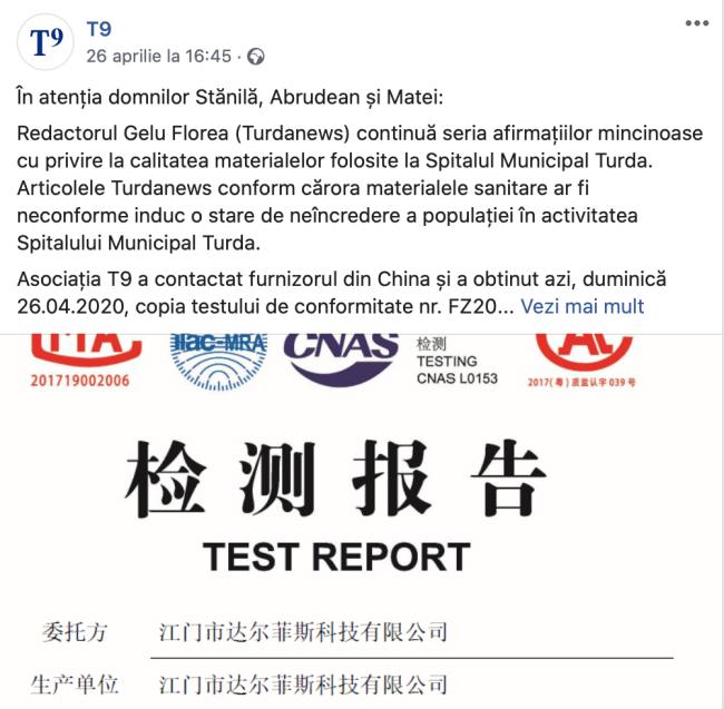 certificat chinez