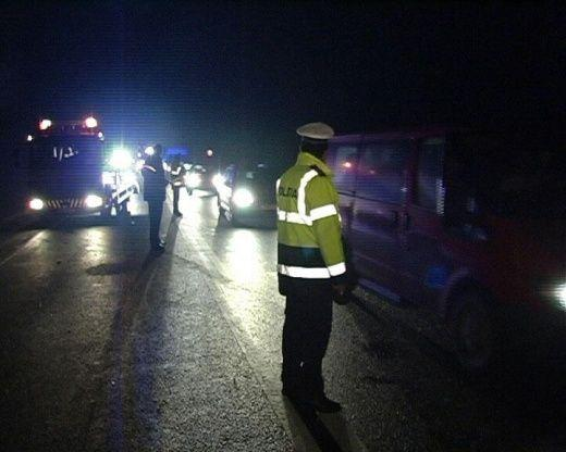 accident noaptea politie