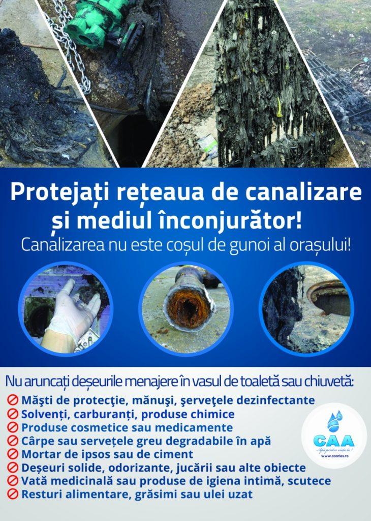 Protejati canalizarea