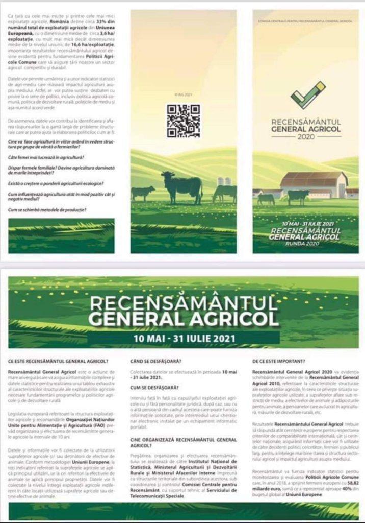 RECENSAMANT AGRICOL