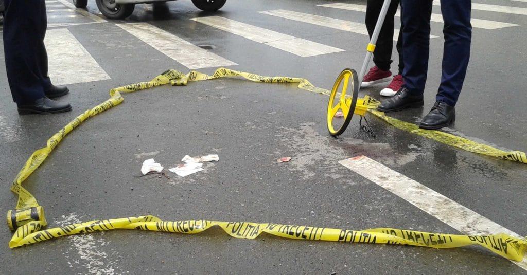Accident trecere pietoni
