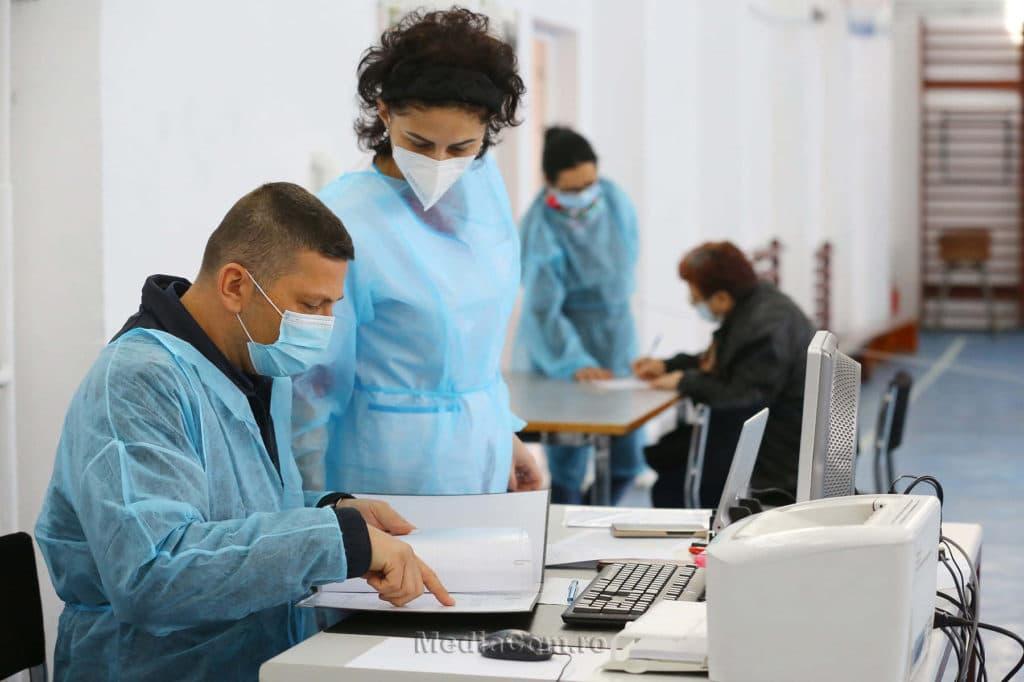 centru vaccinare nou