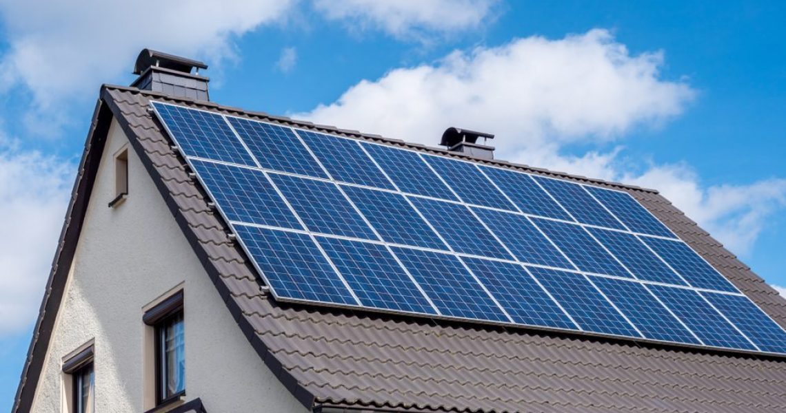 Solar,System,On,A,Roof,Own,Home