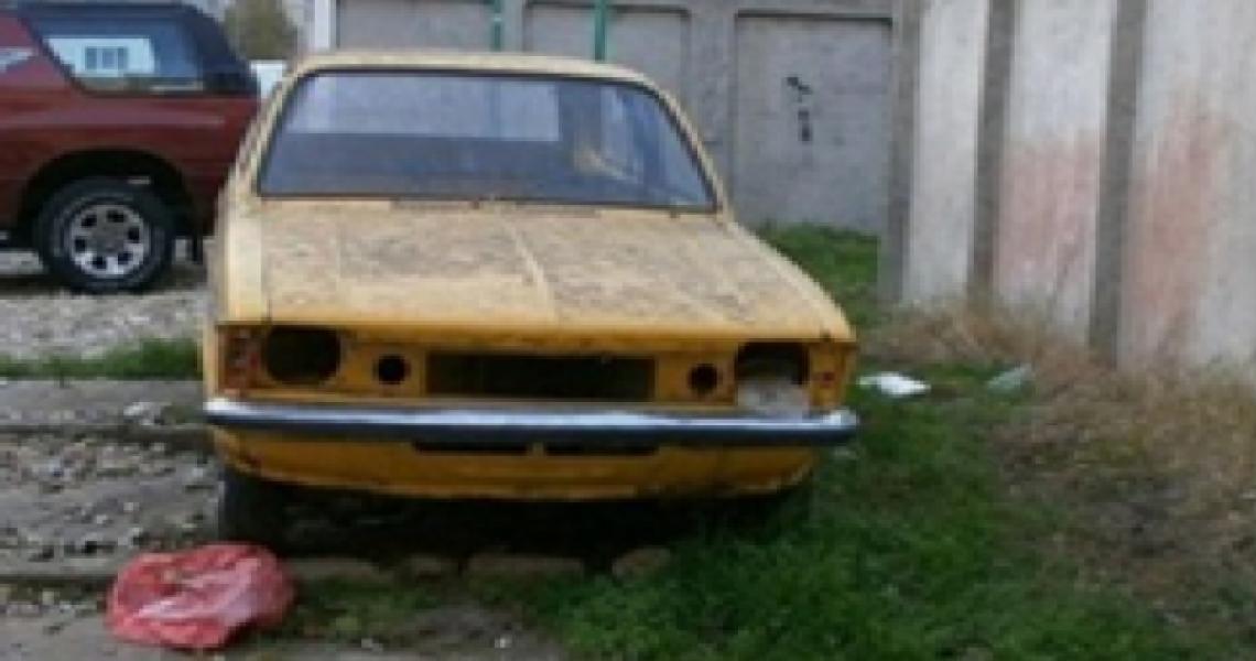 autovehicul abandonat