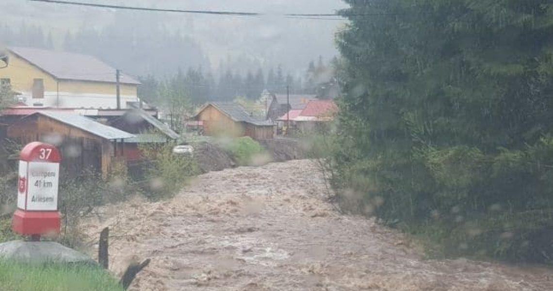 cod galben de inundatii pe somesul mic si aries
