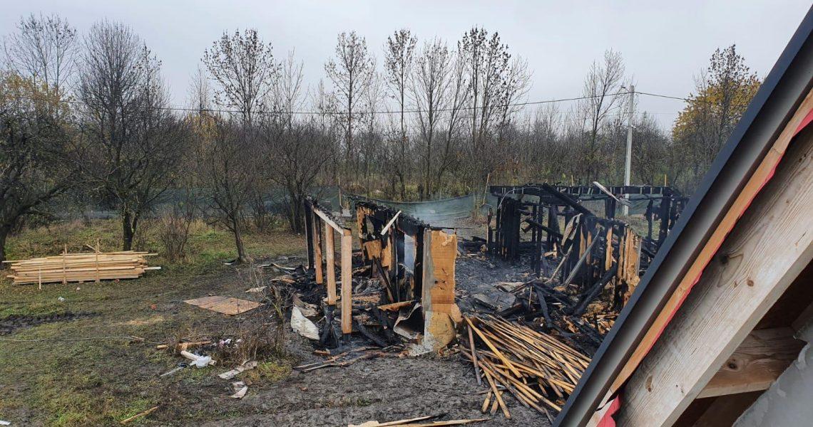 incendiu casă Aiton