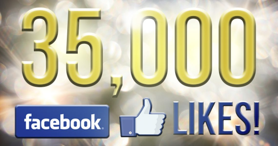 35000 likes